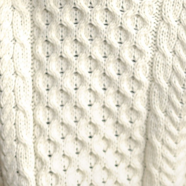 Ladies Traditional Aran Sweater Irish Gifts