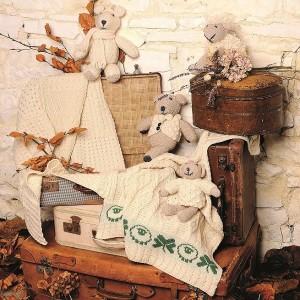 Patchwork Baby Blanket Merino
